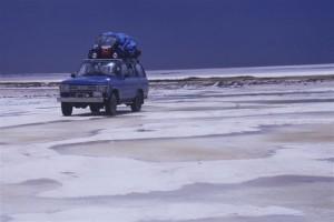 vehicule sur salar