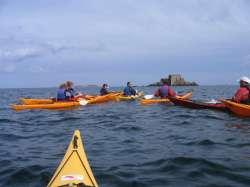 kayaks à Saint Malo