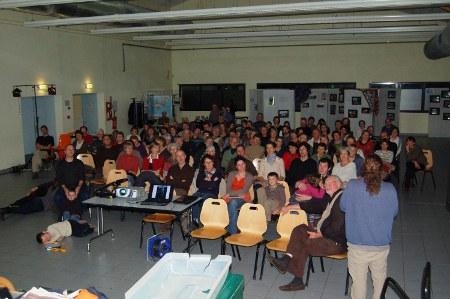La salle lors de la rencontre des voyageurs 2011
