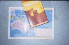 carte australie sylvain