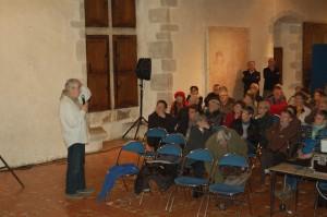 Gérard Chédemail répond aux questions des spectateurs