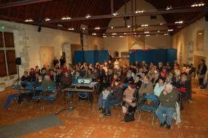 le public lors des deux projections