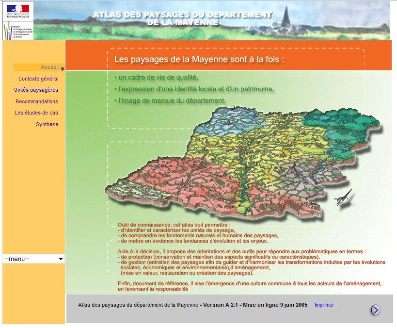 L'atlas des paysages de la Mayenne