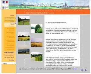 le site atlas des paysages de la Mayenne
