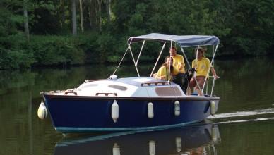bateau à pédales blue note BLH
