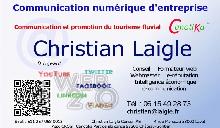 christian laigle conseil en communication numérique et tourisme fluvial
